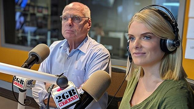 Picture for Erin Molan breaks down in tears as she shares emotional tribute to her father Senator Jim Molan after 'aggressive' cancer diagnosis
