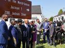 Picture for WATCH NOW: Tito and Marlon Jackson in Gary for dedication of home of the Jackson 5