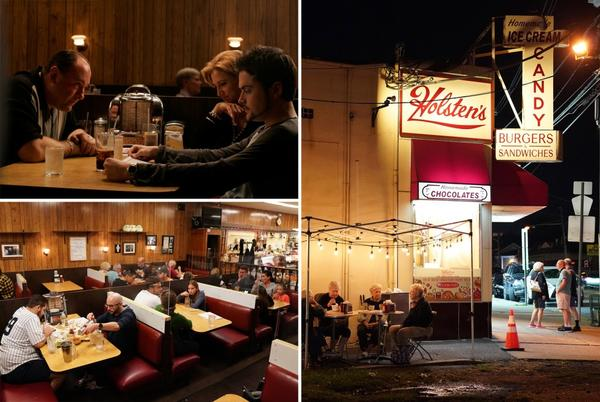 Picture for Holsten's, where Tony Soprano last ate, sees business boom