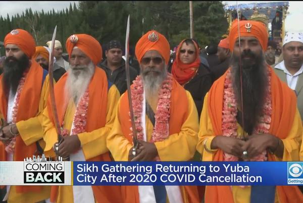 Picture for Massive Sikh Gathering Returning To Yuba City