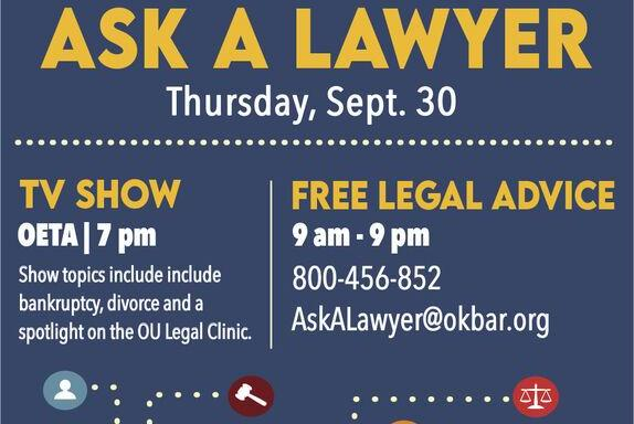 Picture for Oklahoma lawyers to offer free legal advice
