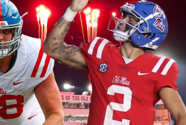 Picture for Matt Corral, Jeremy James earn SEC Weekly Honors