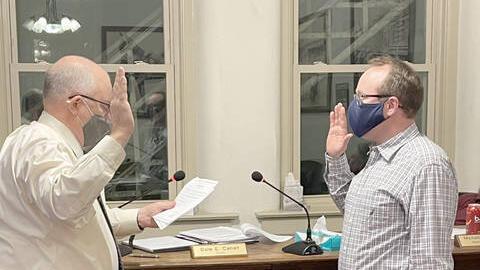 Picture for Varner sworn onto council