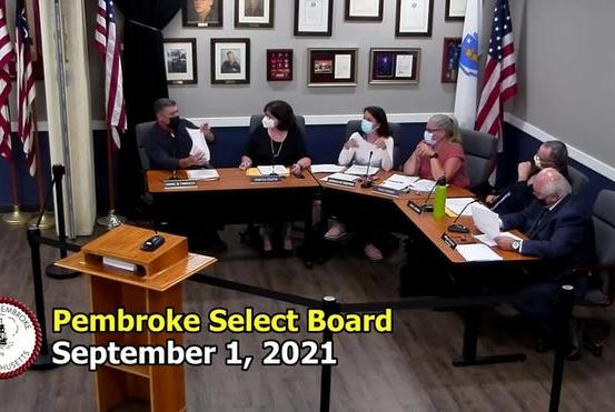 Picture for Pembroke selectman compares diversity committee interview questions to Nazi Germany