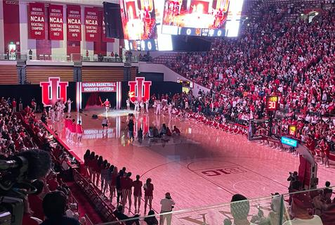 Picture for Indiana ranked 27th in the AP preseason college basketball poll