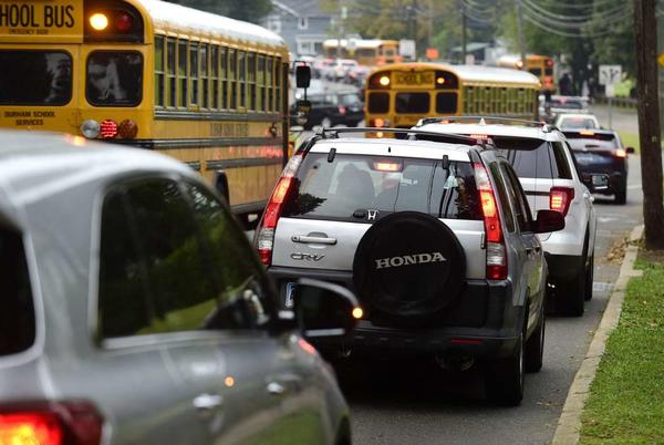 Picture for Officials: Norwalk school buses back on schedule following time shift