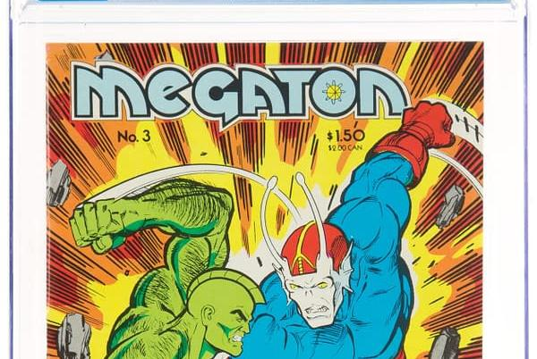 """Picture for Megaton #3, First Appearance Of """"Savage"""" Dragon, At Auction"""