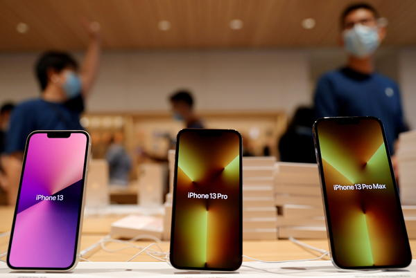 Picture for Apple to sell fewer iPhones as chip crisis bites, J.P.Morgan says