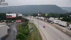 Cover for Traffic backed up for miles on I-81 because of vehicle fire