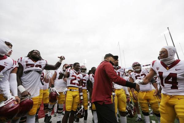 Picture for Donte Williams makes history as USC's first Black head football coach
