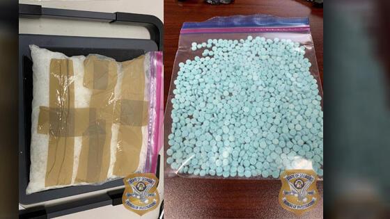 Cover for Tifton man arrested for trafficking methamphetamine