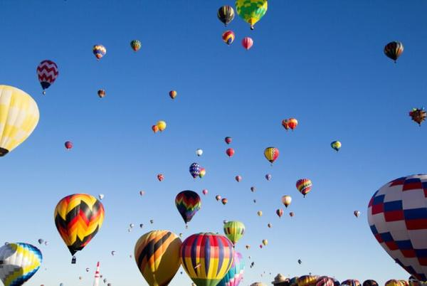 Picture for Don't Miss The Biggest Hot Air Balloon Festival In New Mexico This Year, Albuquerque International Balloon Fiesta