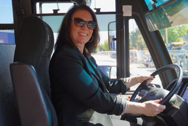 Picture for Amid bus driver shortage, St. Francis schools superintendent gets her license