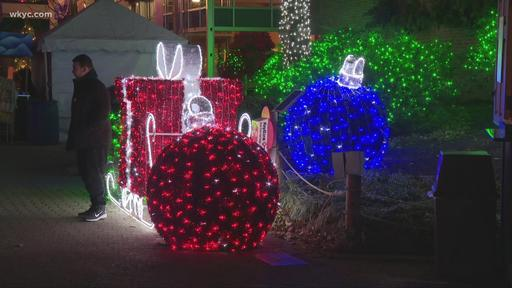 Zoo Lights 2020 Cleveland Christmas Cleveland Zoo's Wild Winter Lights returning for 2020 holiday