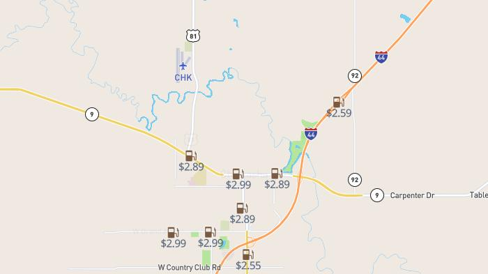 Picture for Don't overpay for gas in Chickasha: Analysis shows most expensive station