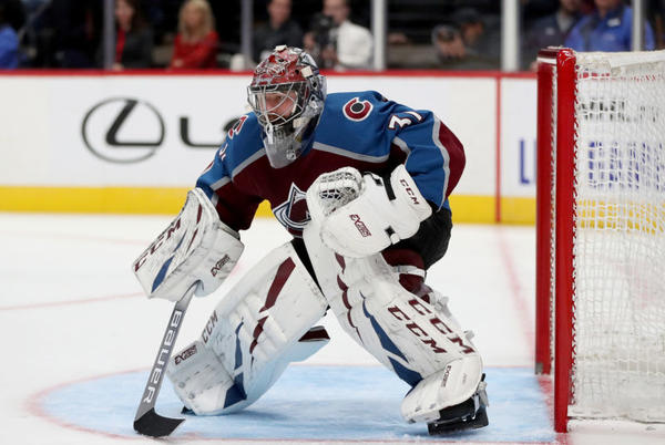 Picture for Is Philipp Grubauer an early Vezina Trophy favorite?