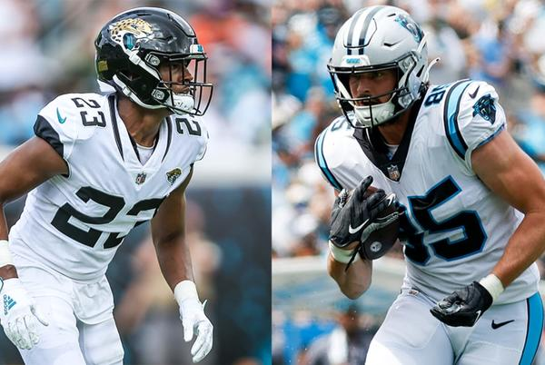 Picture for Jaguars trade 2020 first-round CB C.J. Henderson to Panthers for TE Dan Arnold