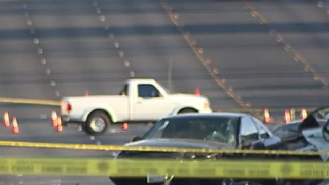 Picture for PD: Man dies in crash after running red light in east Las Vegas