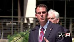 Cover for Oklahoma groups sends petition to Governor, asking for State of Emergency