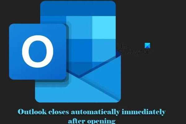 Picture for Fix Outlook closes automatically immediately after opening