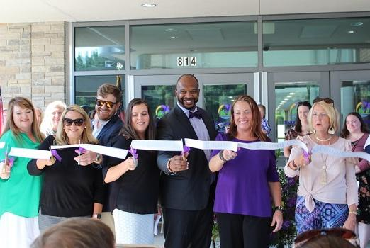 Picture for Piney Woods Elementary Ribbon Cutting