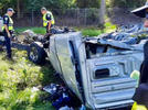 Picture for 3 hospitalized in crash on I-95 in St Lucie County