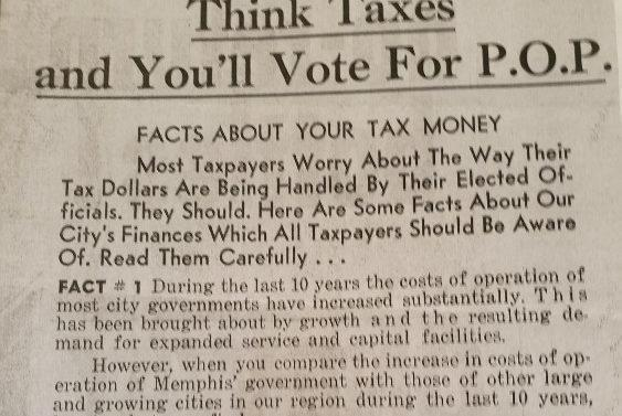 Picture for 1968: The Year City of Memphis Government Was Changed