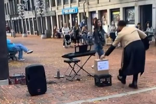 Picture for Watch: John Legend rewards street musician playing 'All of Me'