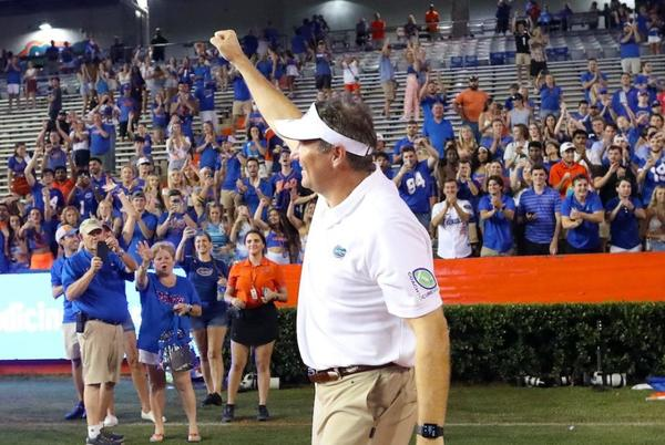 Picture for Dan Mullen pays ultimate compliment to Tennessee, Josh Heupel after Gators win