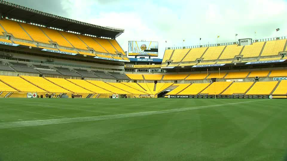 Picture for Pittsburgh Steelers win appeal to paint 'Heinz Field' on seats inside stadium