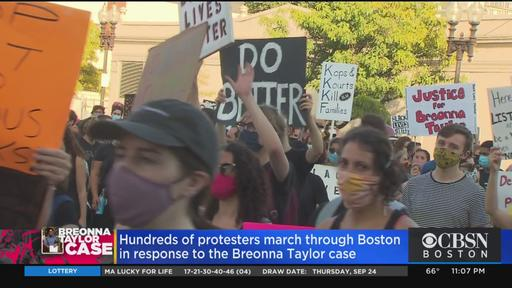Hundreds March In Boston For Second Consecutive Day Demanding Justice For Breonna Taylor News Break
