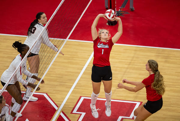 Picture for No. 6 Nebraska Set to Close out Nonconference Against No. 5 Louisville