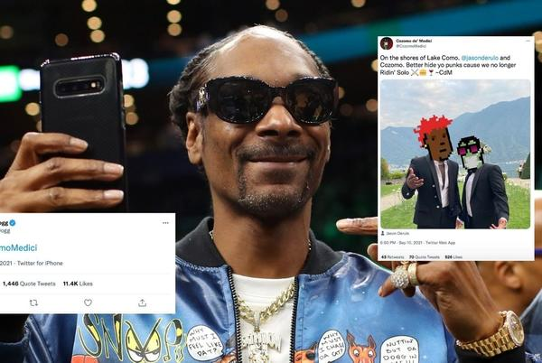 Picture for Shocking: Snoop Dogg Is Not a White NFT Influencer In Italy