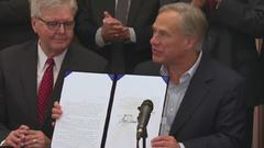 Cover for Gov. Abbott signs 7 gun bills including permitless carry