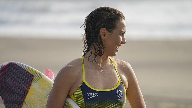 Picture for Australia's Olympic surfing guns prepare to fight for a gold medal 24 hours earlier than planned after a tropical storm brought huge swell to Tokyo's shore
