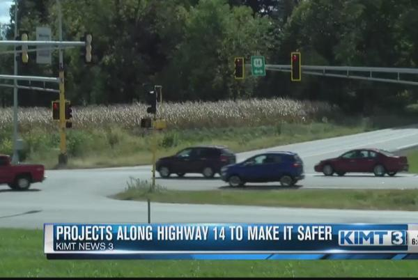 Picture for MnDOT is working on a project to make Highway 14 safer
