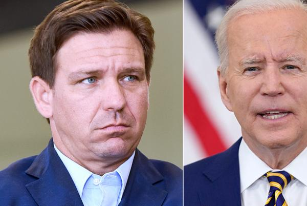 Picture for Biden knocks DeSantis in response to latest tussle with Florida Republican: 'Governor who?'