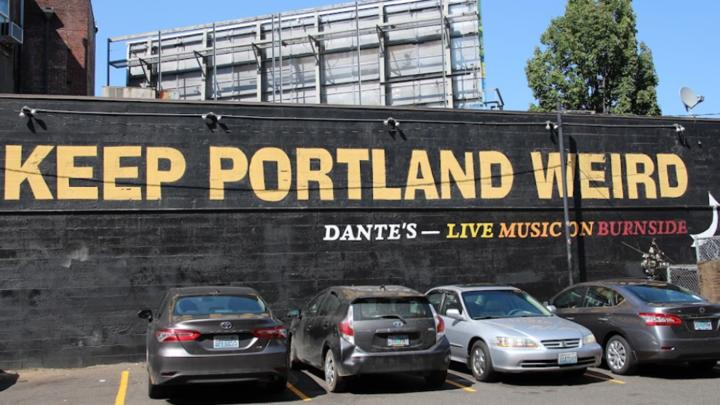 Cover for 10 of Portland's strangest laws