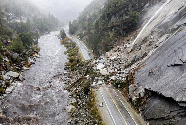 Picture for Drought-stricken California pounded by massive storm