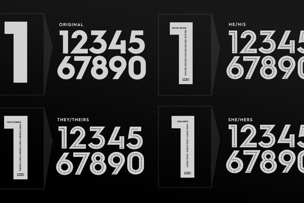 """Picture for United Soccer League Introduces """"Pronouns Numbers Pack"""" for 2022 Season"""