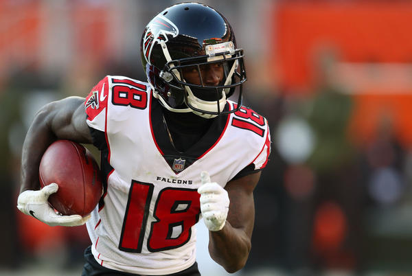 Picture for EAGLES DARIUS SLAY'S SUNDAY NIGHTMARE: FALCONS CALVIN RIDLEY!