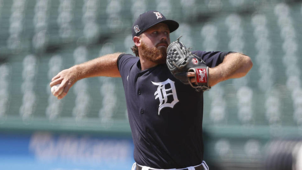 Picture for Tigers select veteran reliever Buck Farmer