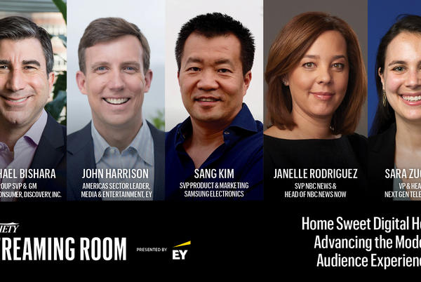 Picture for Discovery, Samsung, NBA, NBC News, EY Execs Join 'Home Sweet Digital Home – Advancing the Modern Audience Experience' Panel