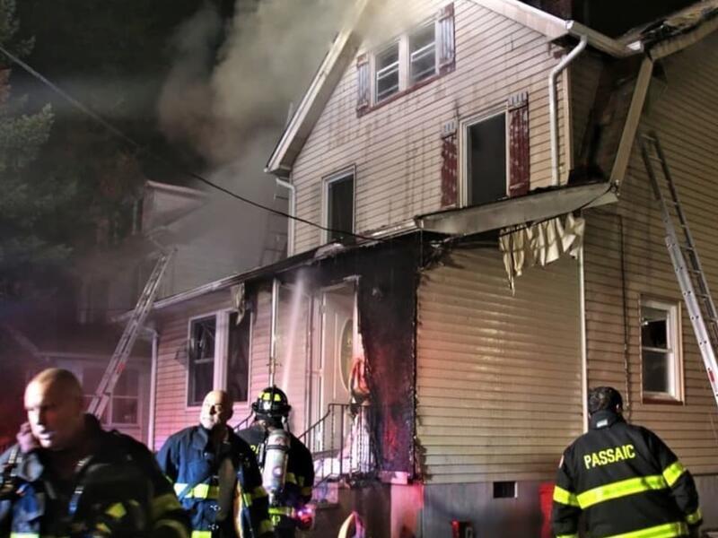 Firefighters Douse Overnight Blaze In Passaic News Break