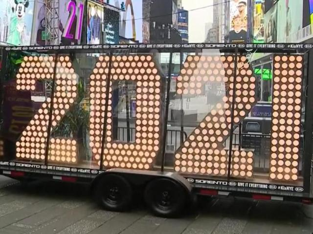 Almost over! 2021 lights arrive in Times Square for New Year's Eve | News Break