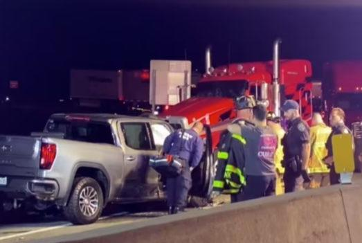 Picture for Wrong way wreck injures at least two