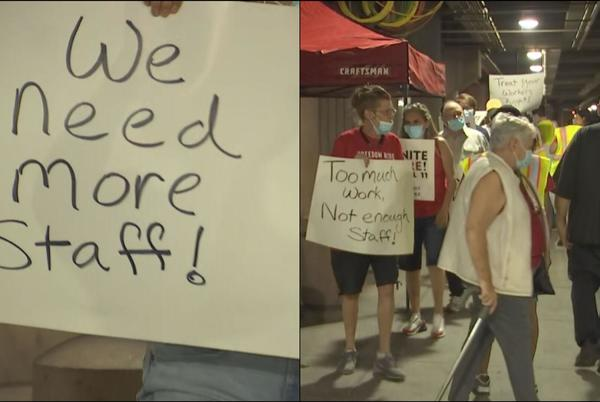 Picture for Baristas, concession workers strike over staffing at Sky Harbor International Airport