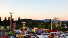Cover for Lane County Fair shooting: 'Two hurt' as gunfire erupts and sends crowds fleeing in terror