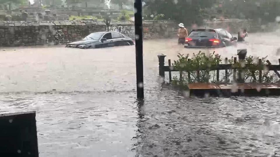 Picture for Severe thunderstorms leave trees down, roads flooded in metro Atlanta
