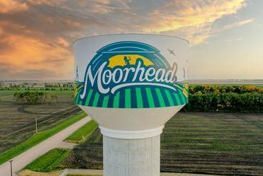 Picture for Moorhead water tower named 'Tank of the Year'